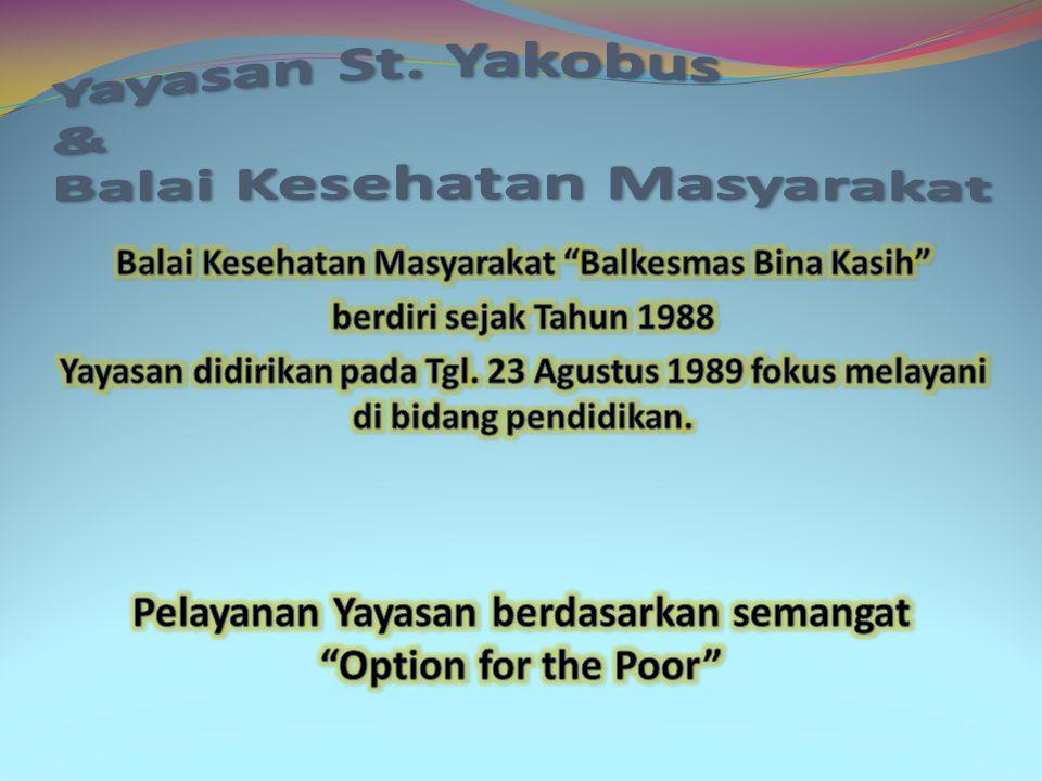 Yayasan St. Yakobus & Balai Kesehatan Masyarakat