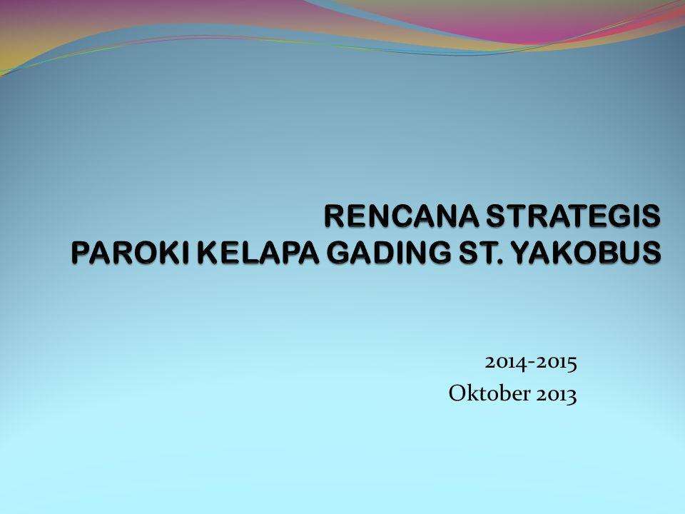 RENCANA STRATEGIS PAROKI KELAPA GADING ST. YAKOBUS