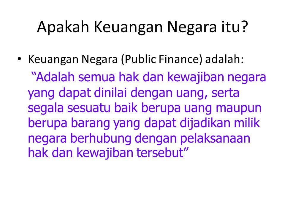 Apakah Keuangan Negara itu