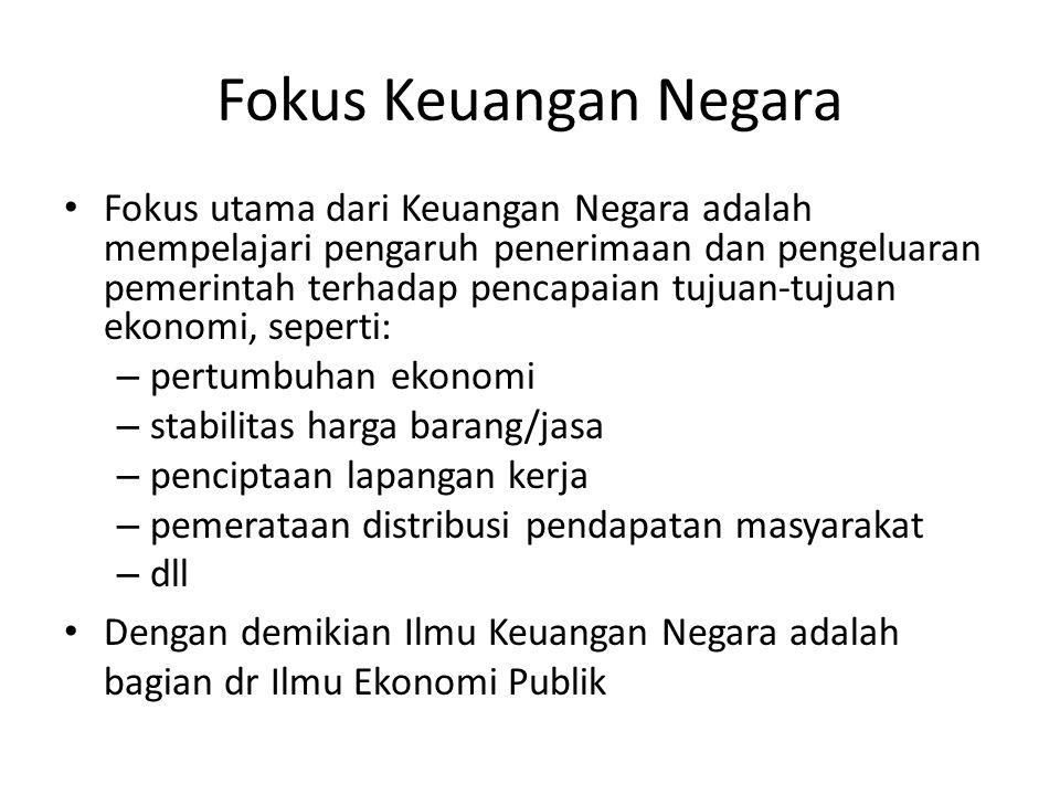 Fokus Keuangan Negara
