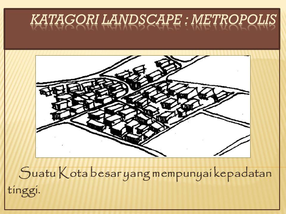 KATAGORI LANDSCAPE : METROPOLIS