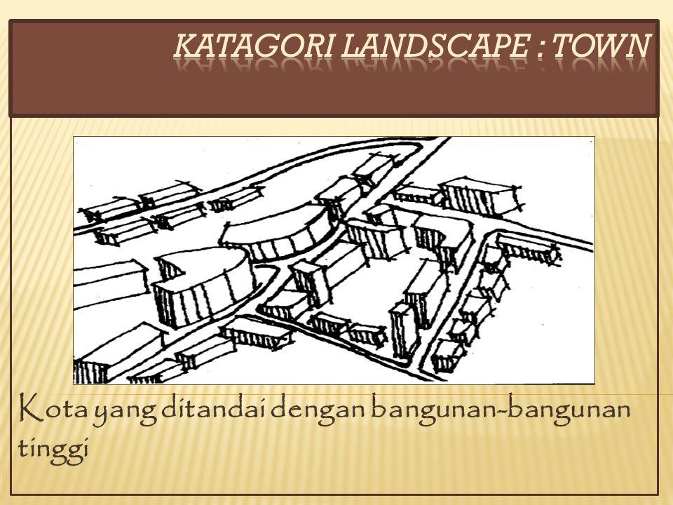 KATAGORI LANDSCAPE : town