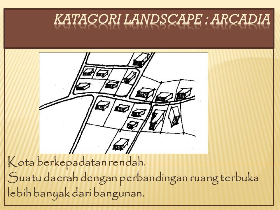 KATAGORI LANDSCAPE : ARCADIA