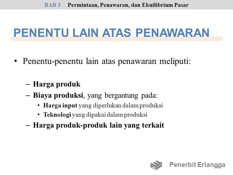 PENENTU LAIN ATAS PENAWARAN
