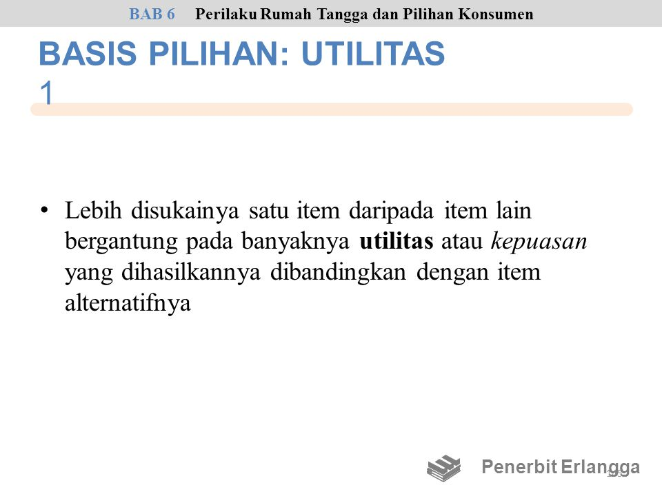 BASIS PILIHAN: UTILITAS 1