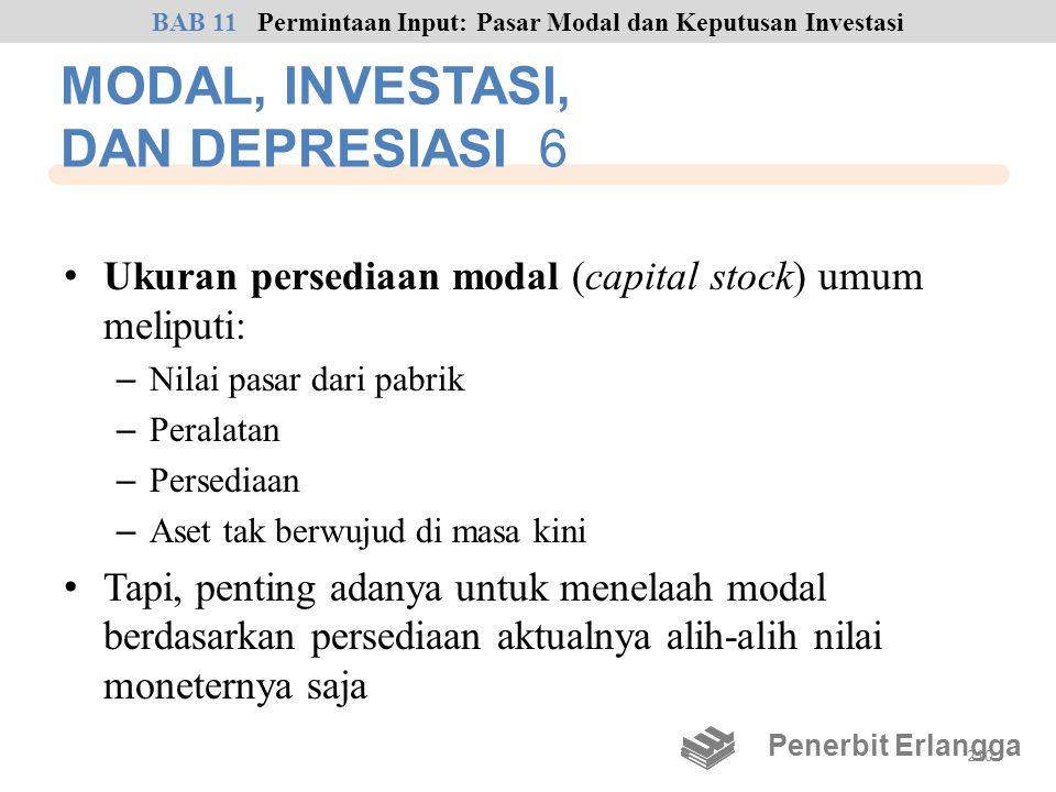 MODAL, INVESTASI, DAN DEPRESIASI 6