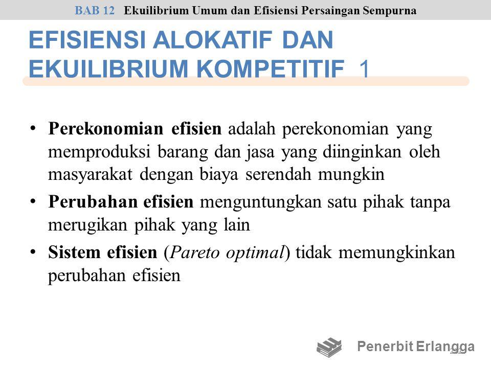EFISIENSI ALOKATIF DAN EKUILIBRIUM KOMPETITIF 1