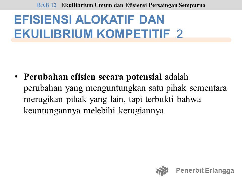 EFISIENSI ALOKATIF DAN EKUILIBRIUM KOMPETITIF 2