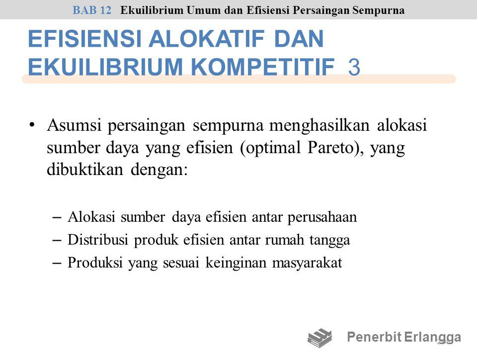 EFISIENSI ALOKATIF DAN EKUILIBRIUM KOMPETITIF 3