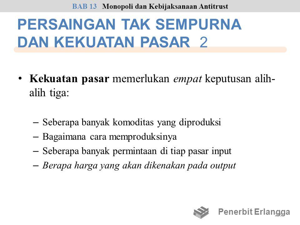 PERSAINGAN TAK SEMPURNA DAN KEKUATAN PASAR 2
