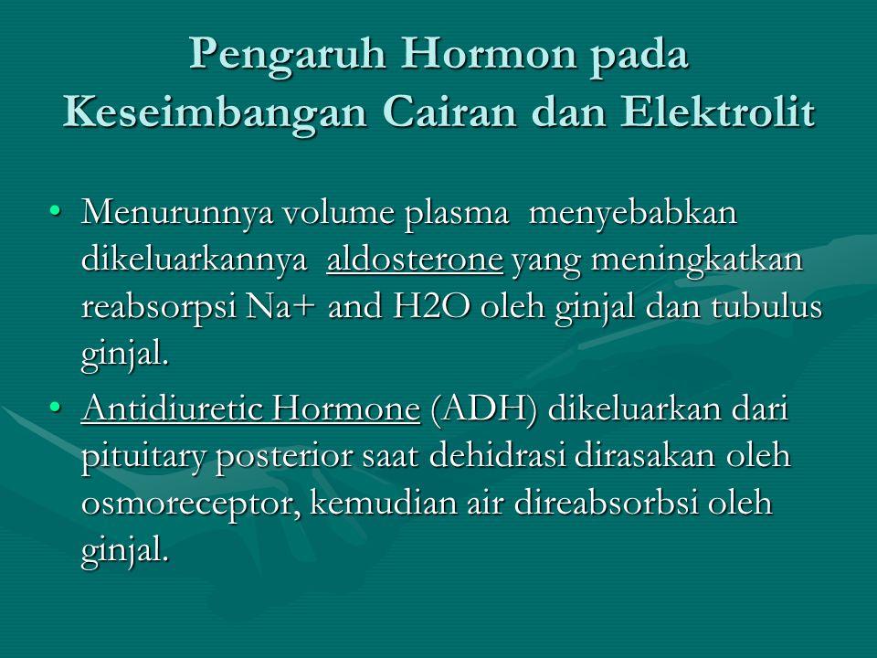 Pengaruh Hormon pada Keseimbangan Cairan dan Elektrolit