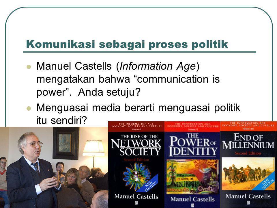 Komunikasi sebagai proses politik