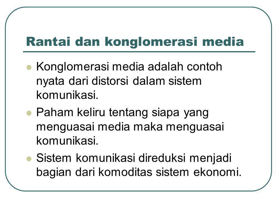 Rantai dan konglomerasi media