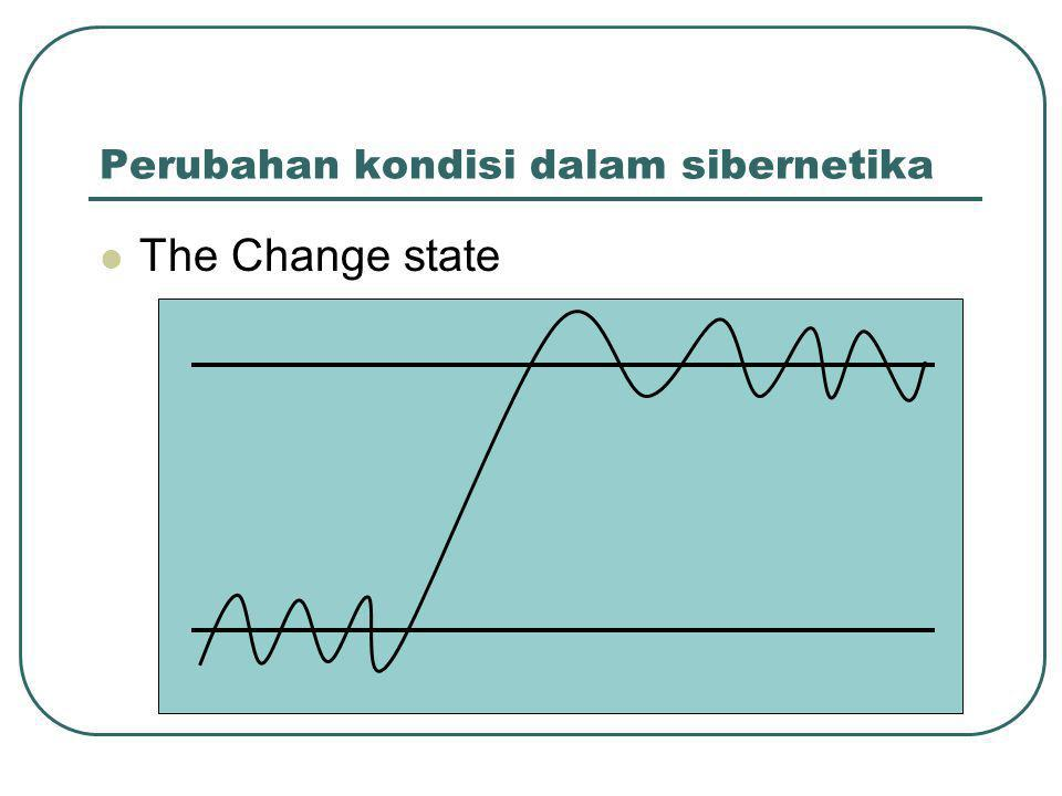 Perubahan kondisi dalam sibernetika