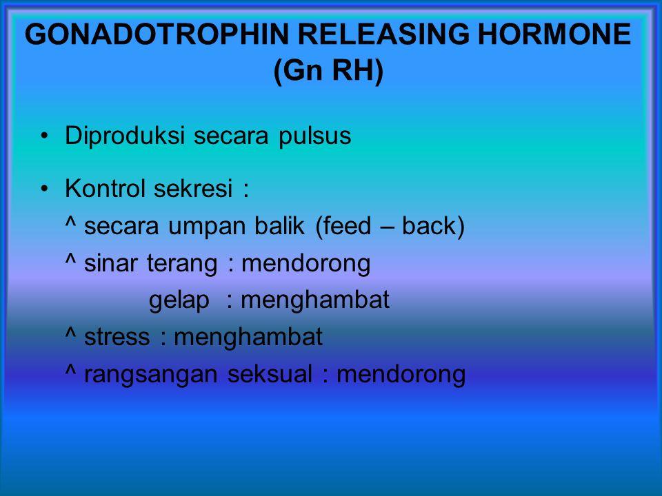 GONADOTROPHIN RELEASING HORMONE (Gn RH)