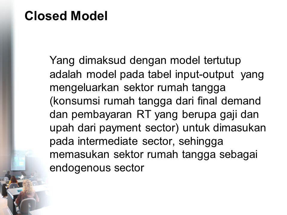 Closed Model