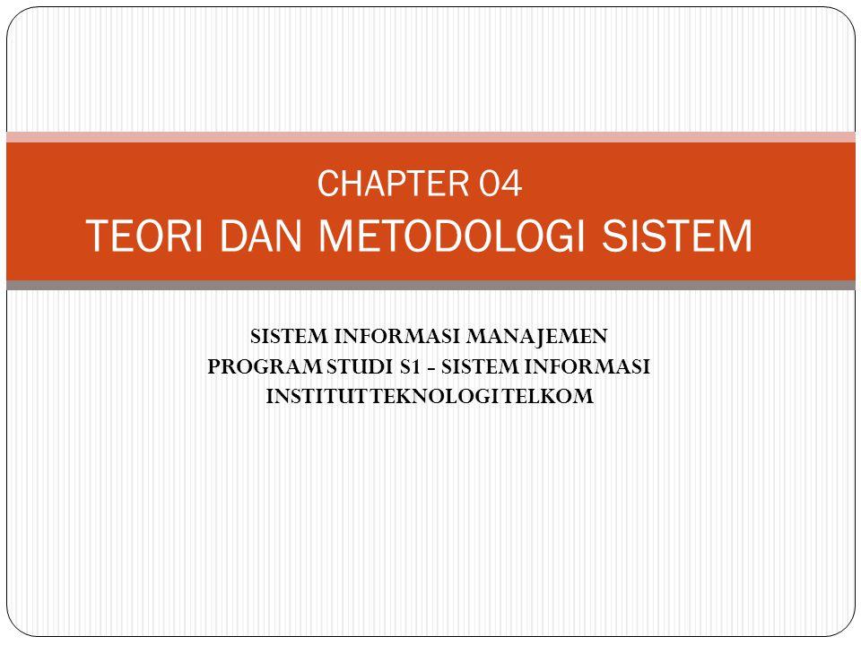 CHAPTER 04 TEORI DAN METODOLOGI SISTEM