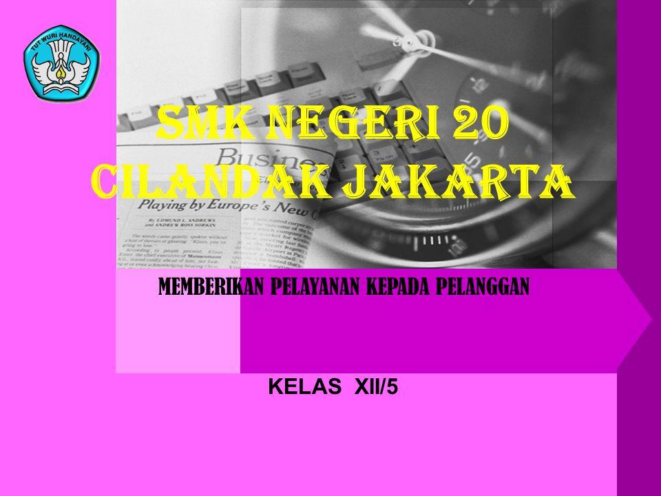 SMK NEGERI 20 CILANDAK JAKARTA