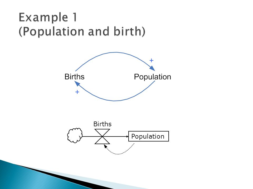 Example 1 (Population and birth)