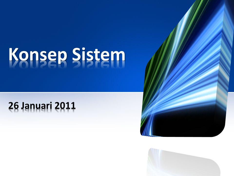 Konsep Sistem 26 Januari 2011