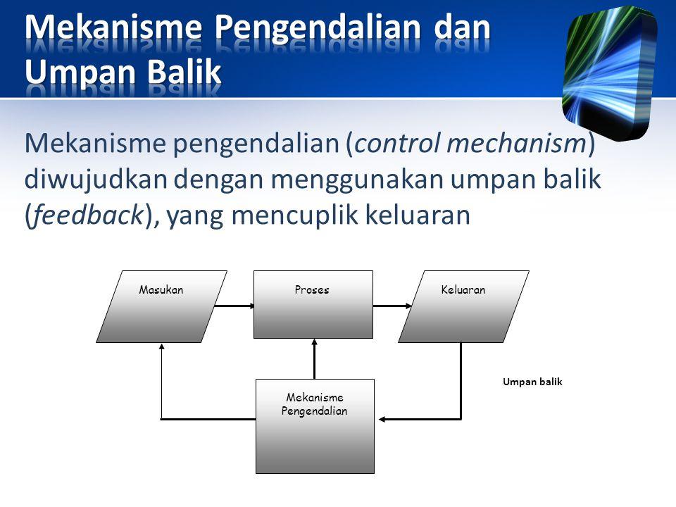 Mekanisme Pengendalian dan Umpan Balik
