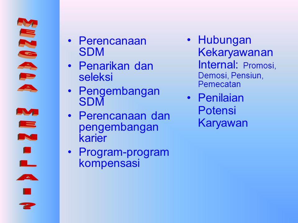 Hubungan Kekaryawanan Internal: Promosi, Demosi, Pensiun, Pemecatan