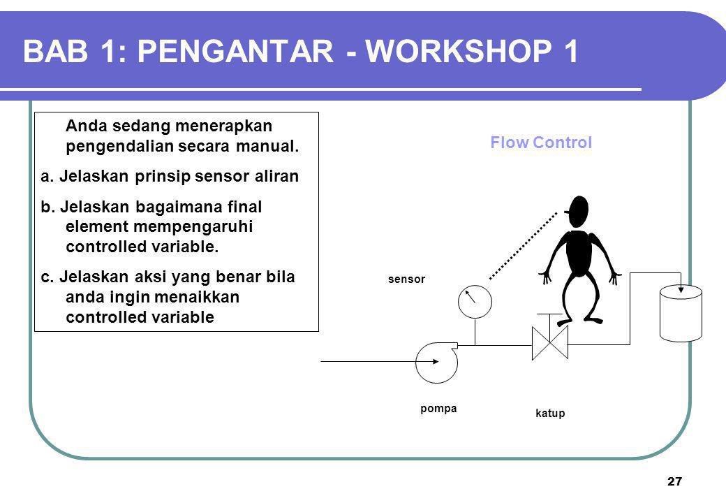 BAB 1: PENGANTAR - WORKSHOP 1