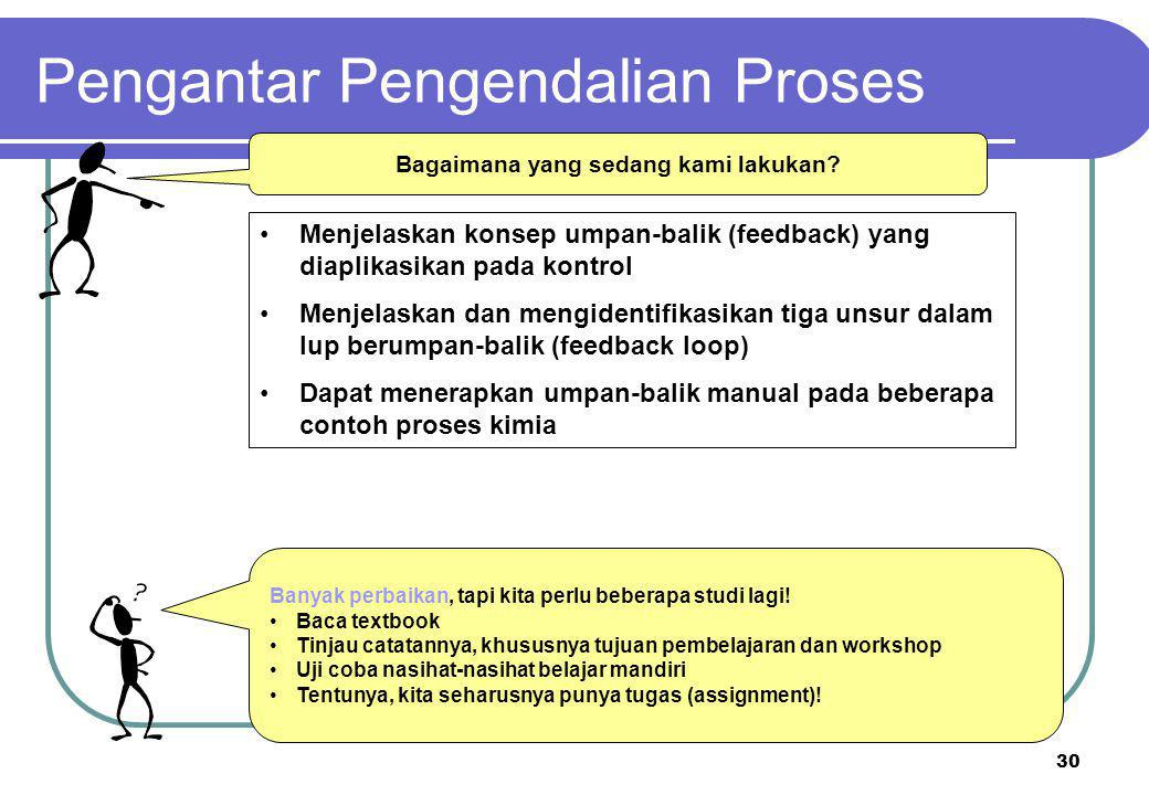 Pengantar Pengendalian Proses