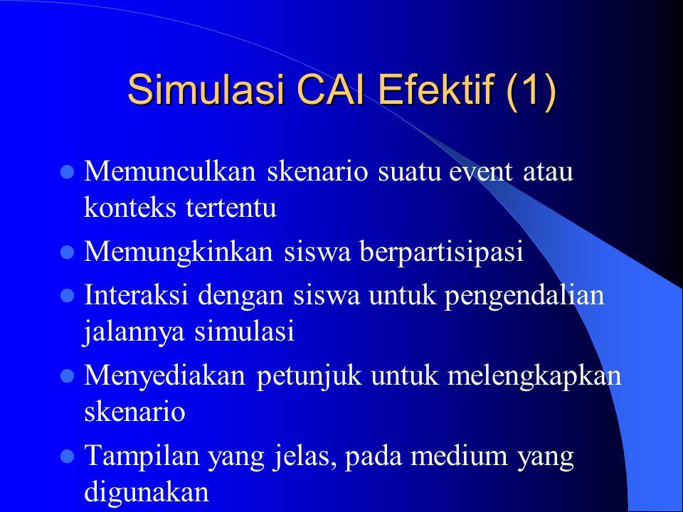Simulasi CAI Efektif (1)