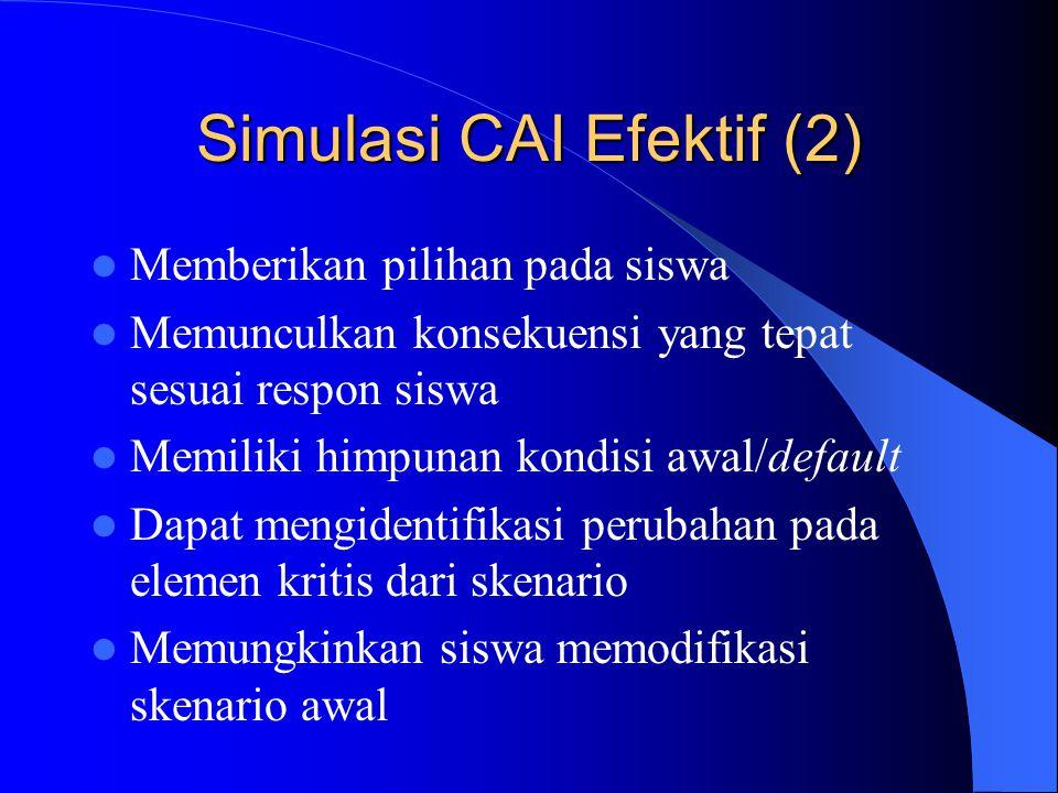 Simulasi CAI Efektif (2)