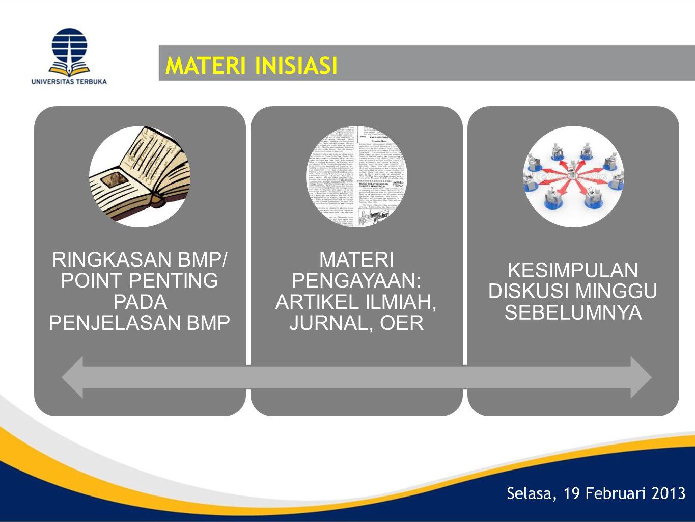 MATERI INISIASI RINGKASAN BMP/ POINT PENTING PADA PENJELASAN BMP