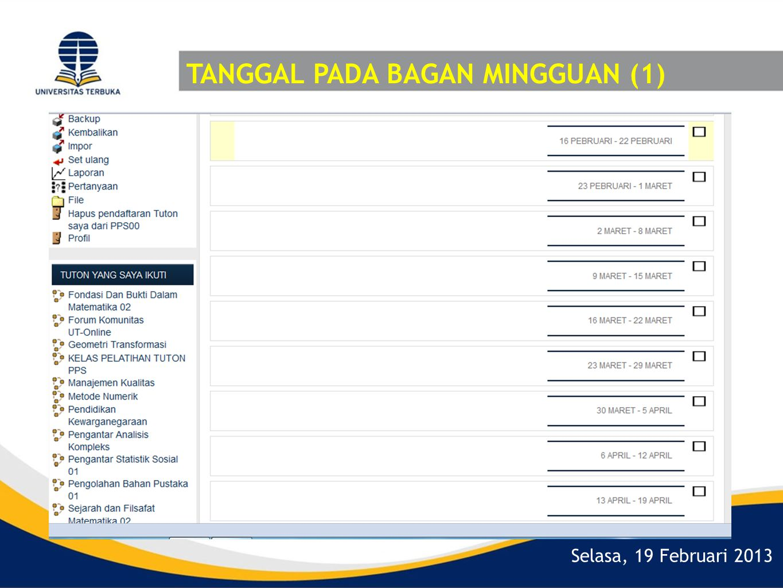 TANGGAL PADA BAGAN MINGGUAN (1)