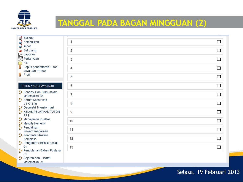 TANGGAL PADA BAGAN MINGGUAN (2)