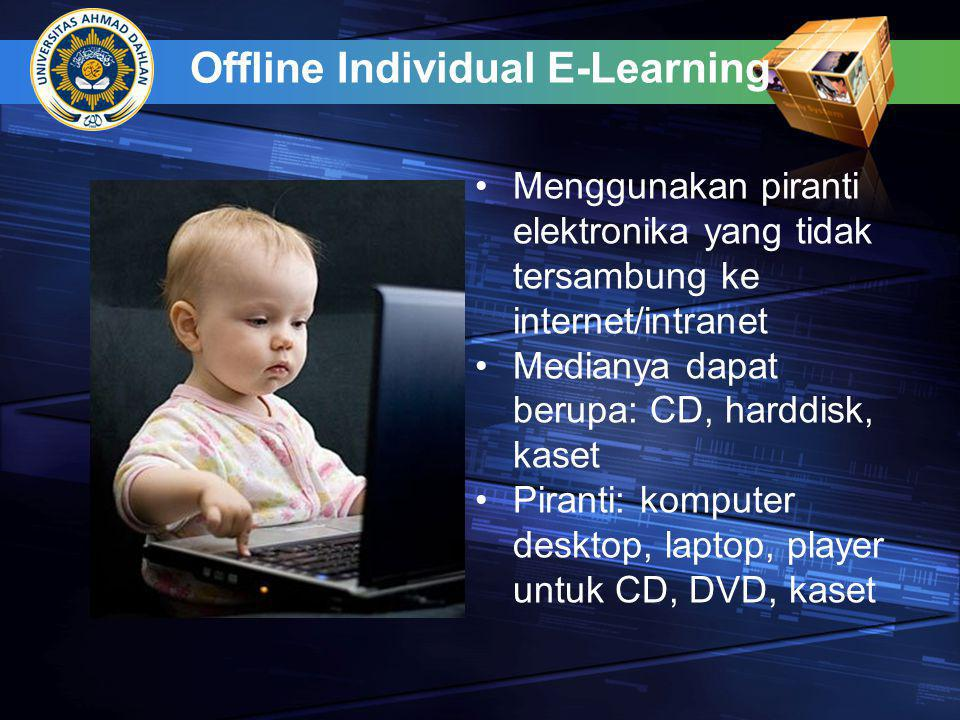 Offline Individual E-Learning