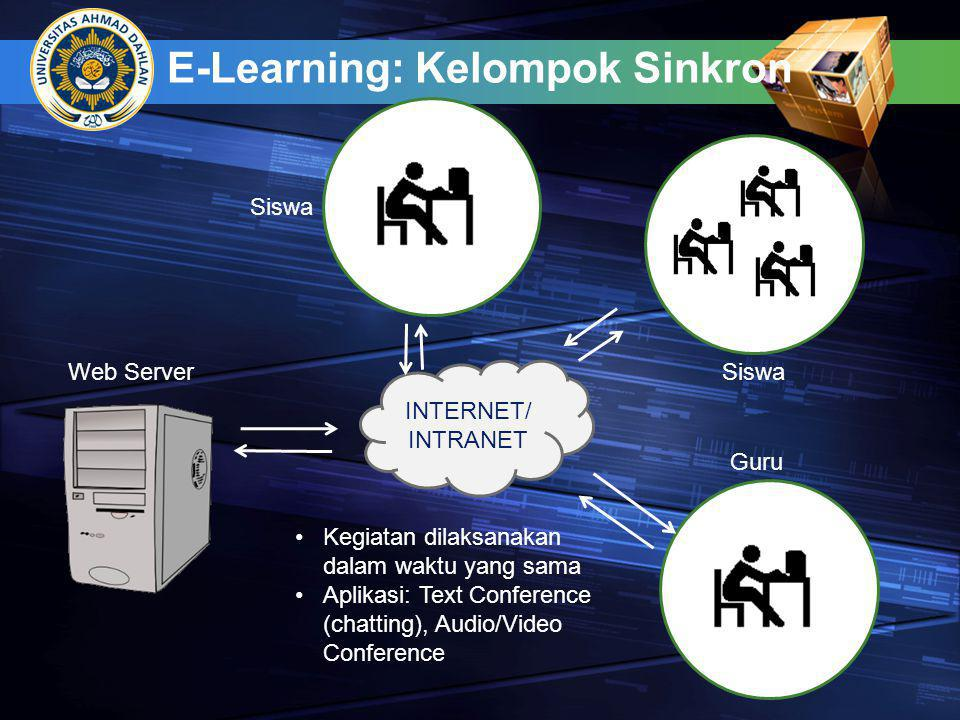 E-Learning: Kelompok Sinkron