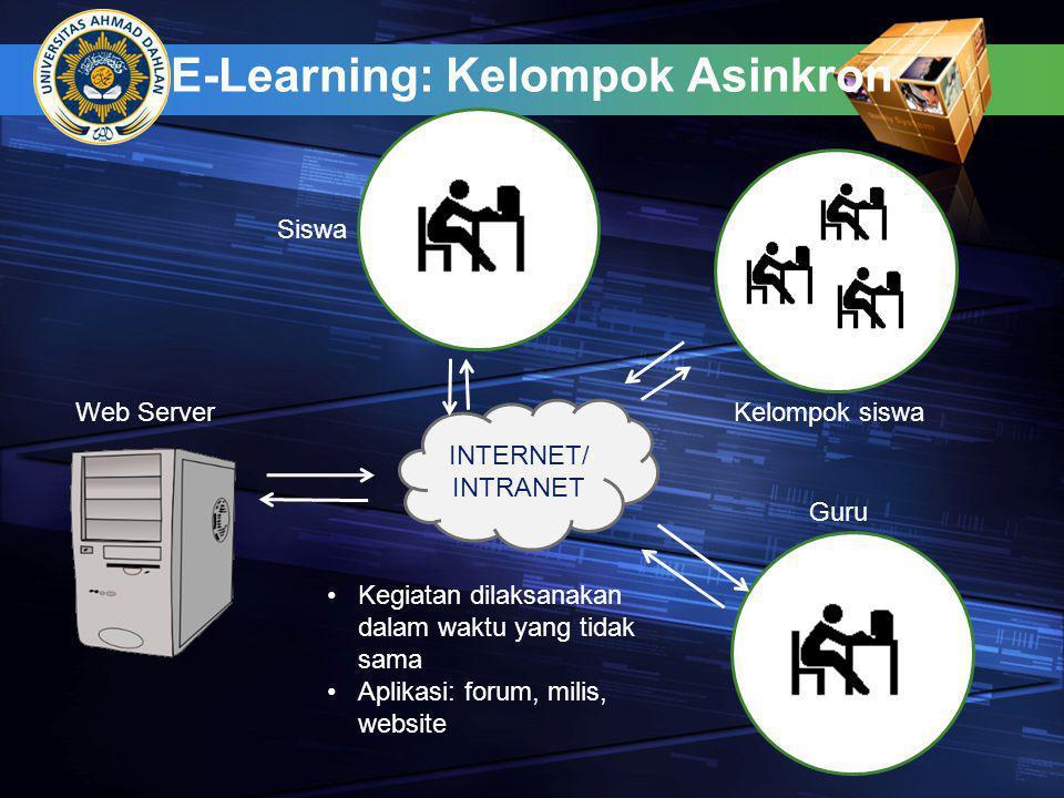E-Learning: Kelompok Asinkron