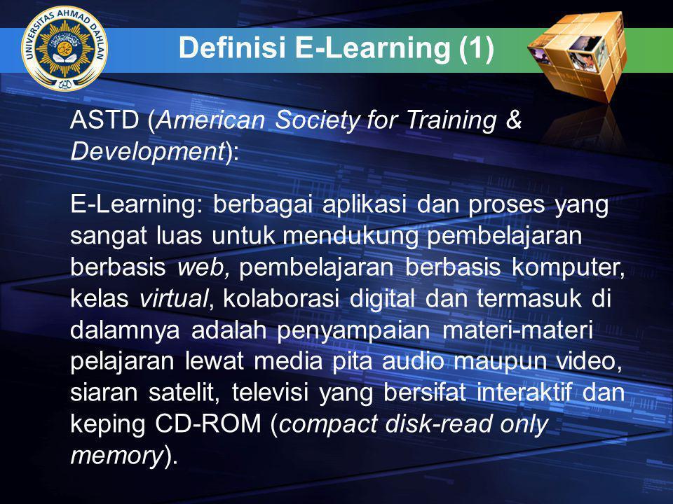 Definisi E-Learning (1)