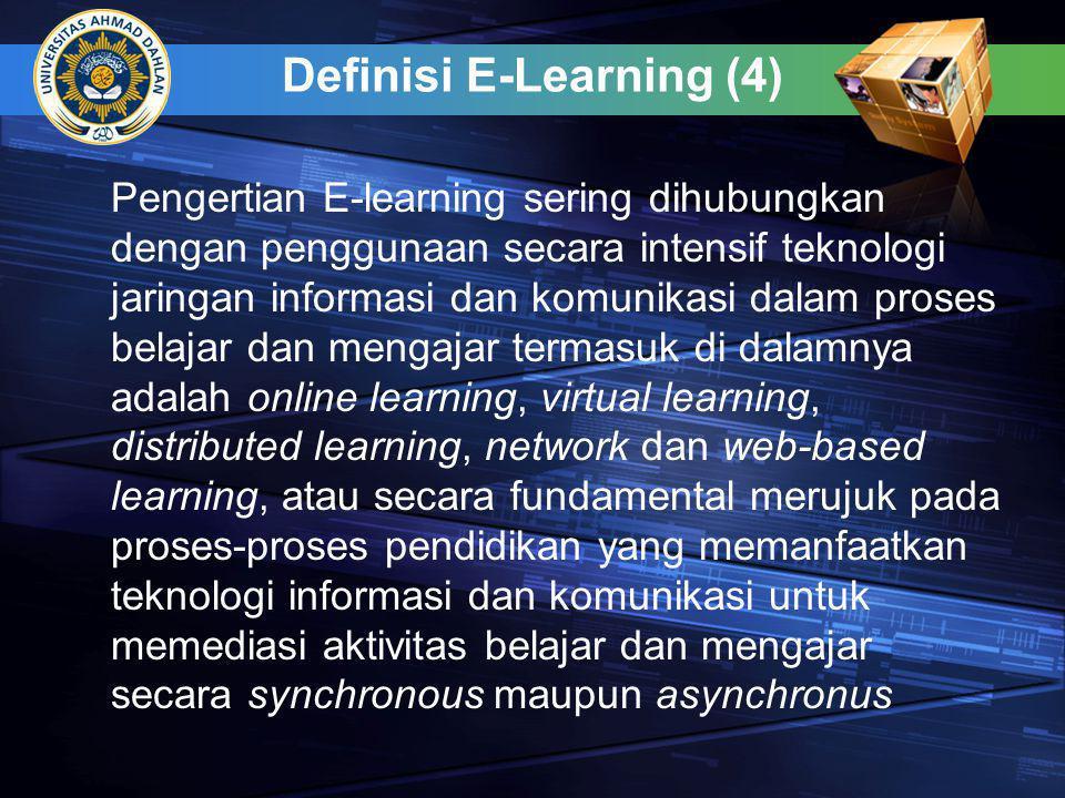 Definisi E-Learning (4)