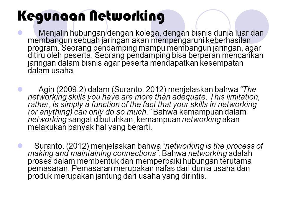 Kegunaan Networking