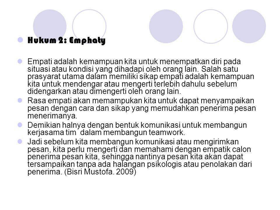 Hukum 2: Emphaty
