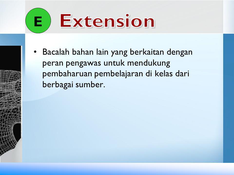 E Extension.