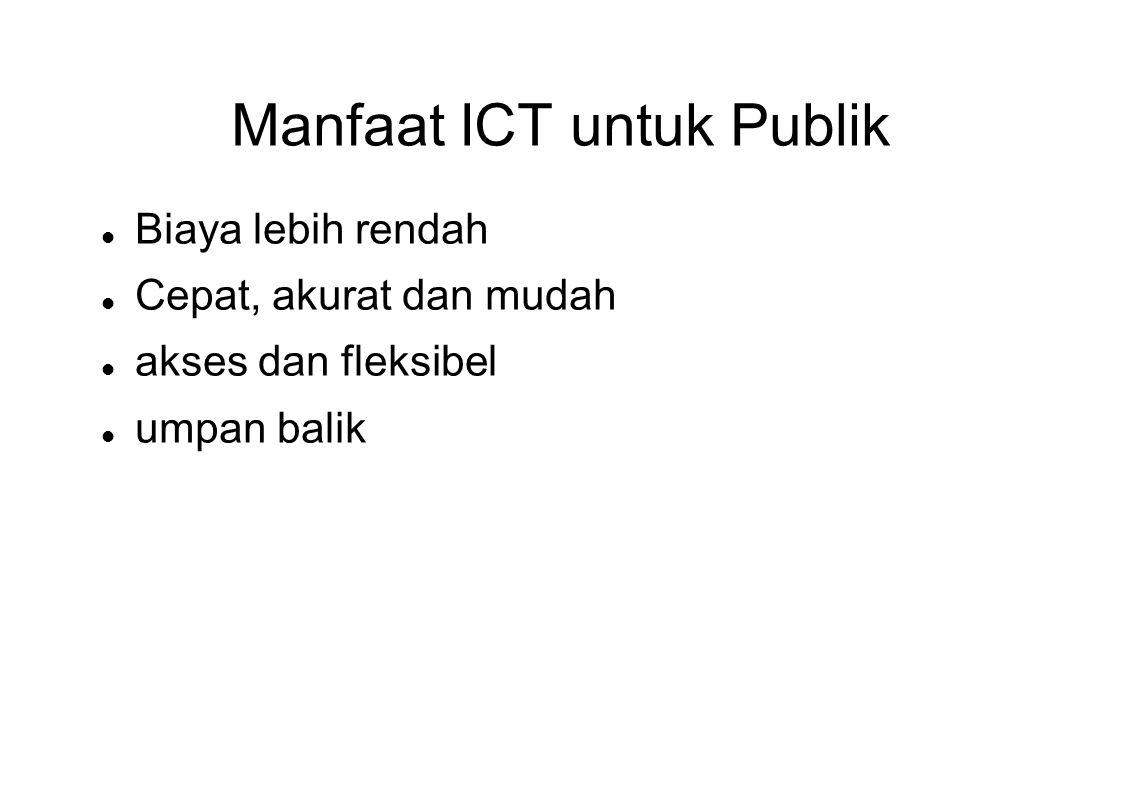 Manfaat ICT untuk Publik