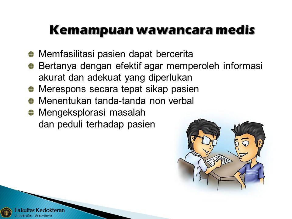 Kemampuan wawancara medis