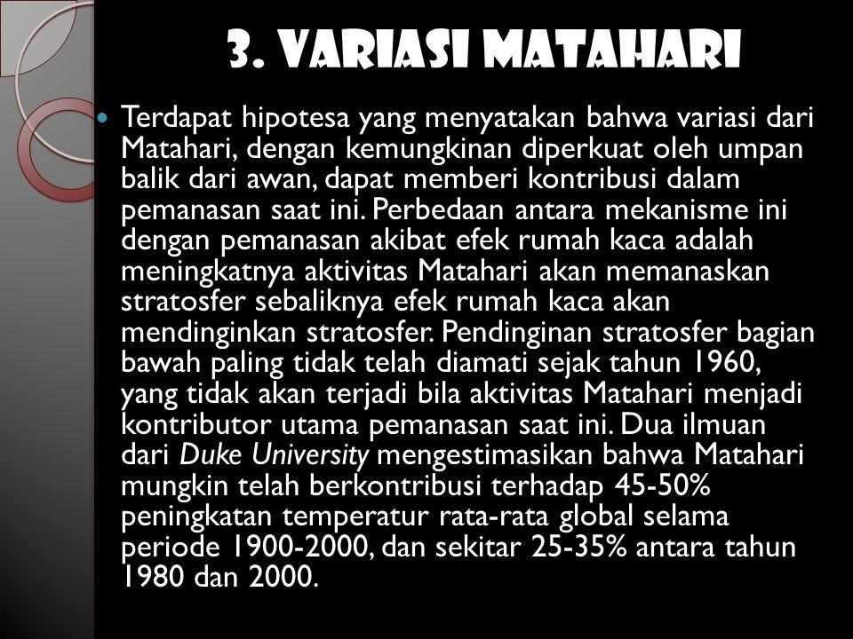 3. VARIASI MATAHARI