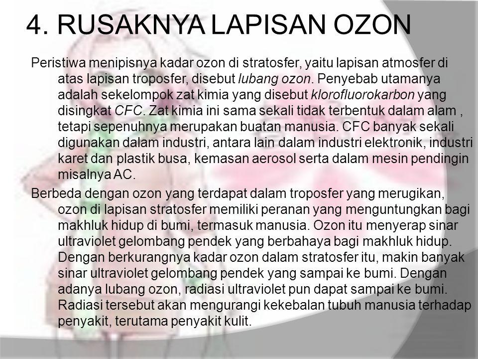 4. RUSAKNYA LAPISAN OZON