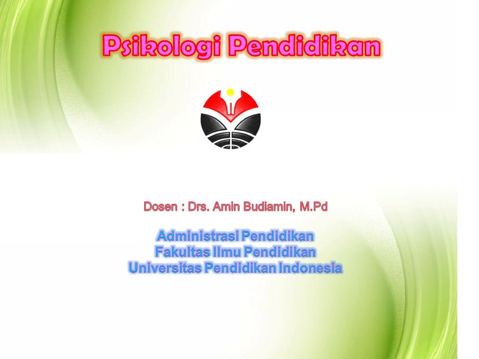 Psikologi Pendidikan Administrasi Pendidikan Fakultas Ilmu Pendidikan