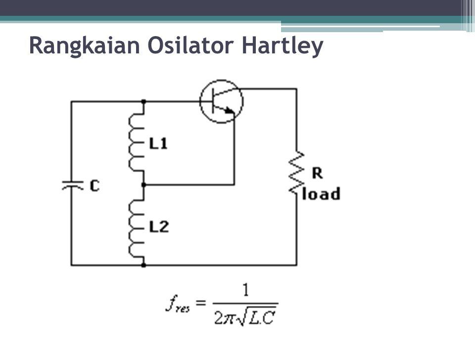 Rangkaian Osilator Hartley