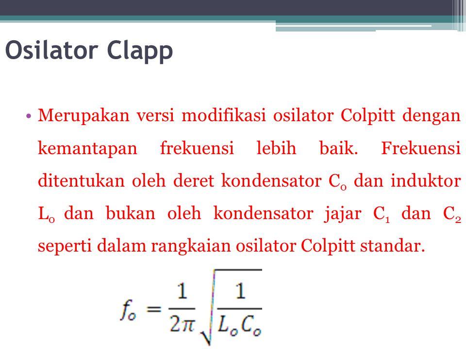 Osilator Clapp