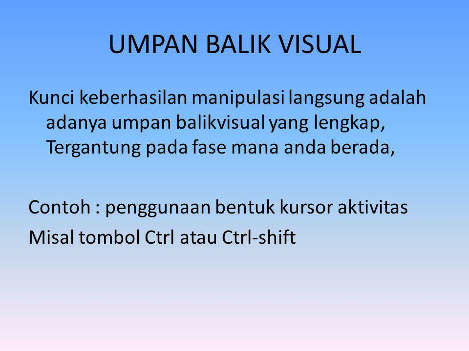 UMPAN BALIK VISUAL