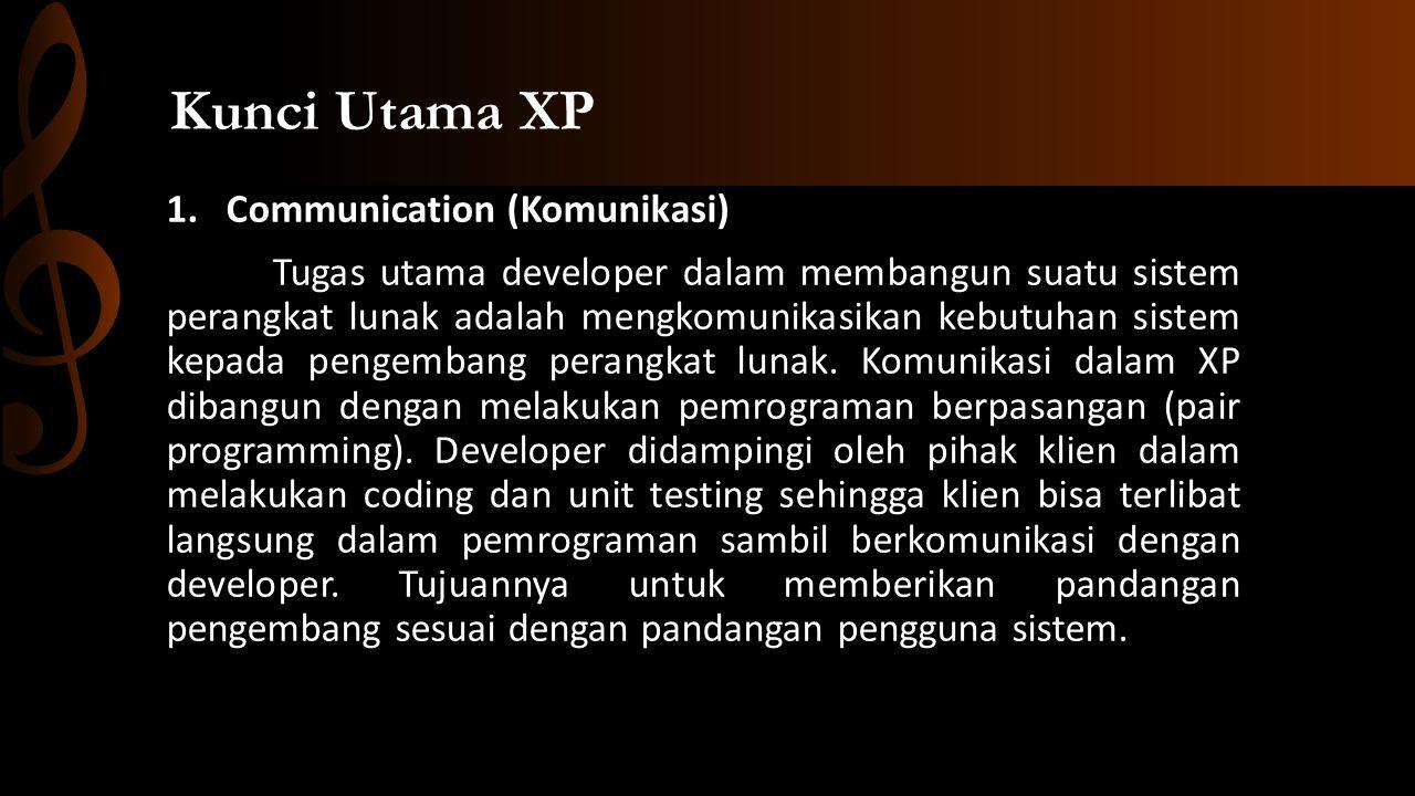 Kunci Utama XP Communication (Komunikasi)